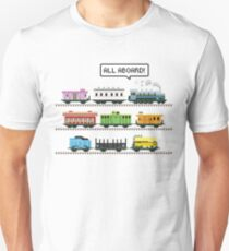 Ticket All Aboard Unisex T-Shirt