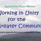 Appalachian Pagan Ministry Mission Statement by APMmerchandise