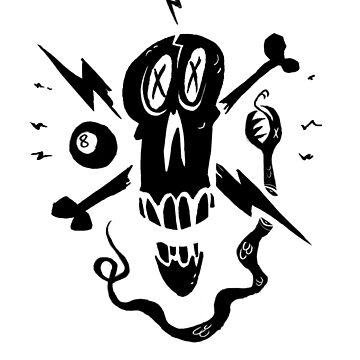 Skull by MassiveTrout