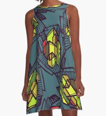 Urban city A-Line Dress