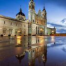 Blue Hour @ Almudena's Cathedral #1 by servalpe