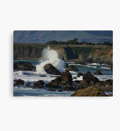 Sonoma Coastline Canvas Print