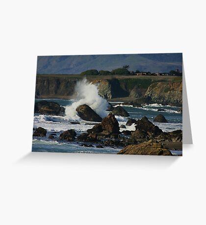 Sonoma Coastline Greeting Card