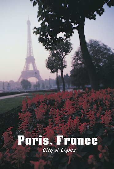 PARIS, FRANCE: City of Light by TOP Posters & Prints