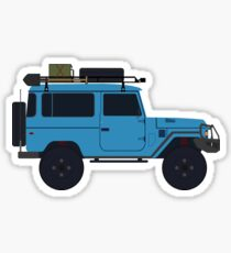 Toyota land Cruiser FJ40  Sticker