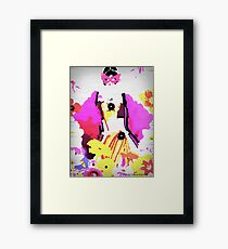 Gorgeous Geisha Framed Print