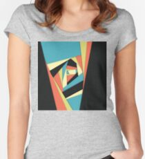 Layers of Color Women's Fitted Scoop T-Shirt