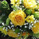 Gelbe Rosen von BlueMoonRose