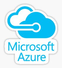 Microsoft Azure Sticker