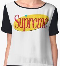 Supreme Seinfeld Collab Women's Chiffon Top