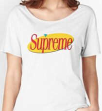 Supreme Seinfeld Collab Women's Relaxed Fit T-Shirt