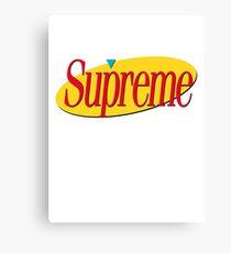 Supreme Seinfeld Collab Canvas Print