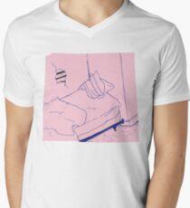 Waste Yrself Men's V-Neck T-Shirt