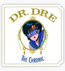 Sailor Mercury Dr Dre the Chronic cove  Sticker