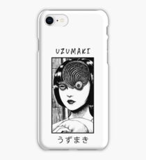 Uzumaki Horror Manga Design iPhone Case/Skin