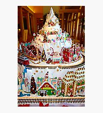 Gingerbread House Study 8  Photographic Print