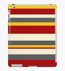 Retro colours stripes iPad Case/Skin