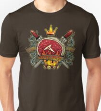Flame Licked Grade A Prime Unisex T-Shirt