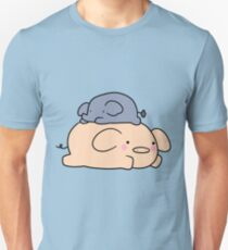 Little Elephant and Pig Unisex T-Shirt