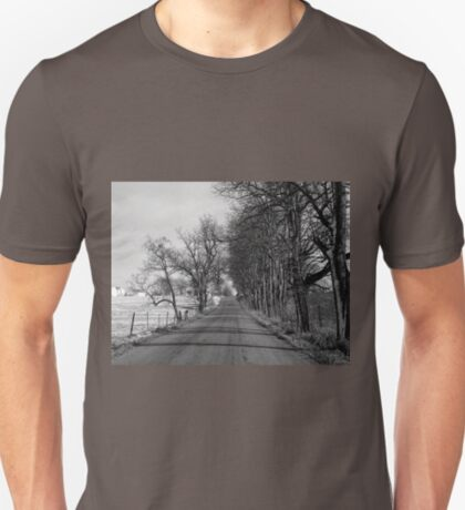 Shifting sands slip through your hands...Time is gone before it's begun...Do the seasons slowly grey? T-Shirt