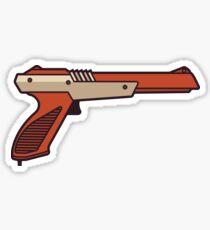 Retro Video Game Gun Sticker
