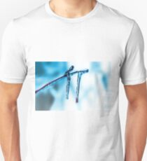Icicles on the tree branch T-Shirt