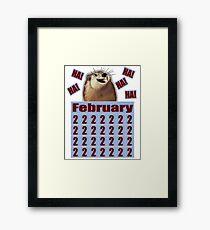 Groundhog Day Forever Framed Print