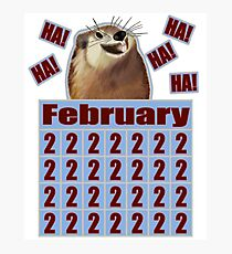 Groundhog Day Forever Photographic Print