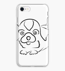 dog pen iPhone Case/Skin