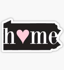 Pennsylvania is Home Sticker