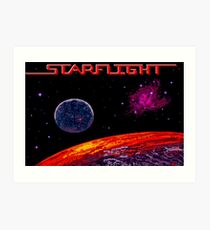Starflight (Genesis Title Screen) Art Print