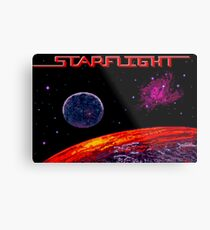 Starflight (Genesis Title Screen) Metal Print