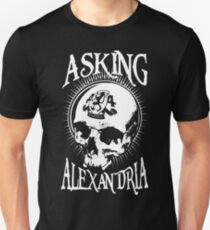 Asking Alexandria Skull  tshirt and hoodie Unisex T-Shirt