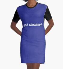 Got Ukelele? Graphic T-Shirt Dress