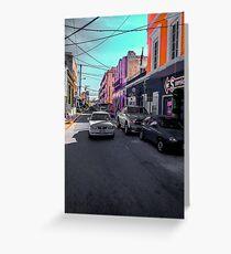 Rush Street Greeting Card