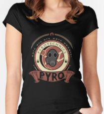 Pyro - Red Team Women's Fitted Scoop T-Shirt