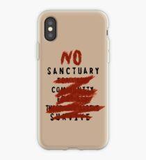 No Sanctuary iPhone Case