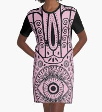Magical Protection Graphic T-Shirt Dress