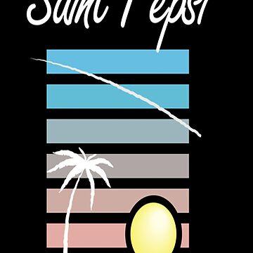 Saint Pepsi tee by moonaholic
