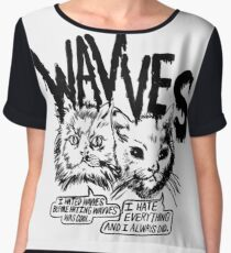 Wavves I Hated Wavves Before they were cool  Chiffon Top