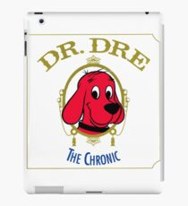 Clifford the Big red dog 2001 Dr Dre the Chronic  iPad Case/Skin