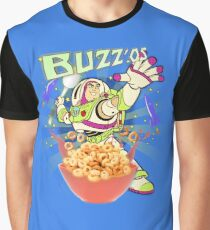 Buzz'os Lightyear Breakfast Cereal Graphic T-Shirt
