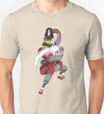 jiraiya and orochimaru Unisex T-Shirt