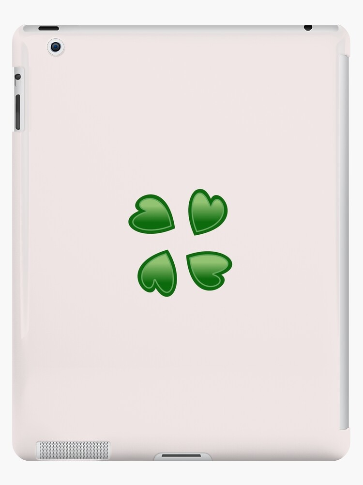 4chan Clover Logo Ipad Cases Skins By Xbigredx Redbubble
