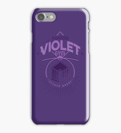 Violet Gym iPhone Case/Skin