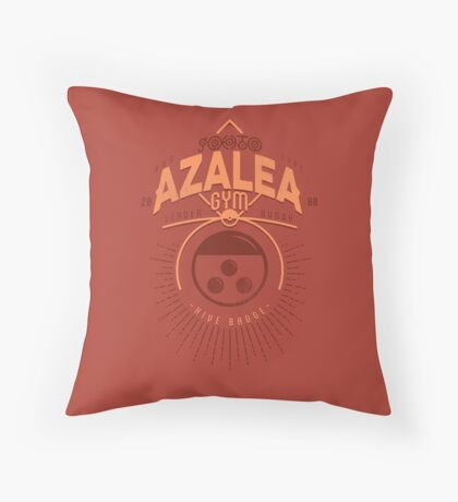 Azalea Gym Throw Pillow