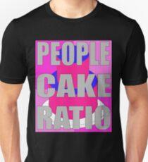 People To Cake Ratio Unisex T Shirt