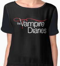 The Vampire Diaries Women's Chiffon Top