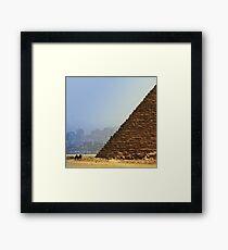 Egypt, Giza Framed Print