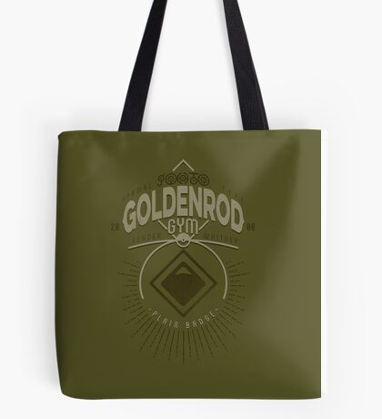 Goldenrod Gym Tote Bag